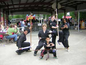 Kung Fu camp group picture