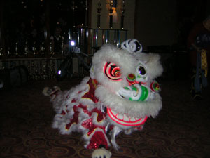 Chinese New Year-2012 Lion Dance picture.