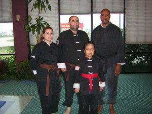 Jaquelin Kung Fu rank test picture.