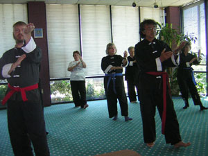 Paul Turk Tai Chi test picture