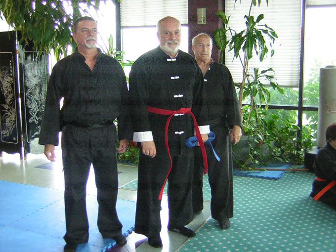 Wang's Martial Arts Tai Chi Ranktest result - Dec. 15, 2006