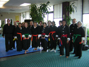 Wang's Martial Arts Tai Chi rank test picture