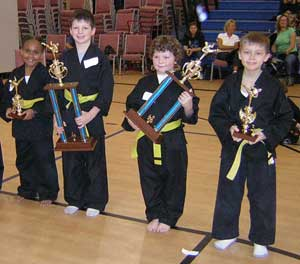 Kung Fu Tournament Child  Form picture