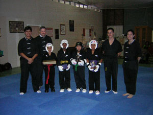 Tournament sparring picture