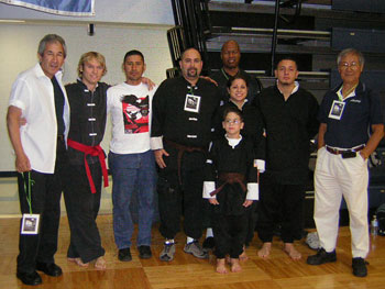 Wang's Martial Arts tournament picture at San Atonio.