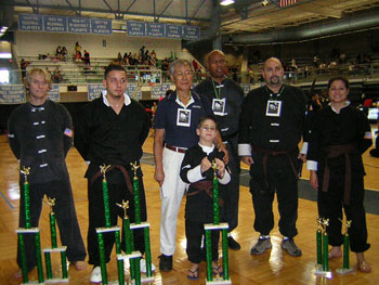 Wang's Martial Arts student tournament picture