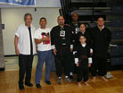 Wang's Martial Arts student picture with Jesse Diaz